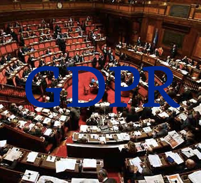 parlamento GDPR