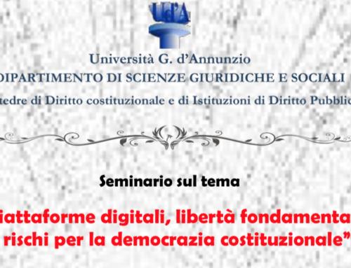 Piattaforme digitali, libertà fondamentali e rischi