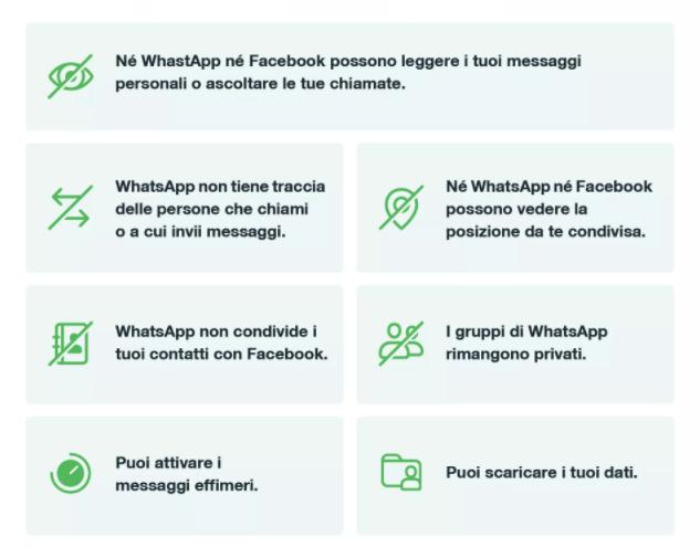 comunicato whatsapp